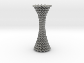 Decorative Column Tessellated Extended in Metallic Plastic
