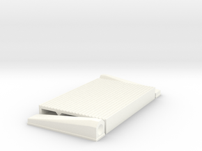 """1/12 Intercooler 24"""" Flow Length By 16"""" Wide in White Strong & Flexible Polished"""