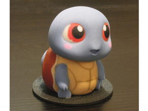 Too Cute: Squirtle in Full Color Sandstone