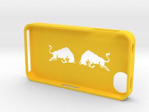 iphone 4s bull in Yellow Strong & Flexible Polished