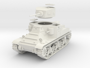 PV37 M2A1 Medium Tank (1/48) in White Strong & Flexible