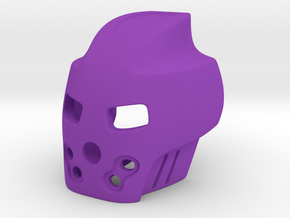 Bionicle - Stylized Pakari (Axle connection) in Purple Strong & Flexible Polished