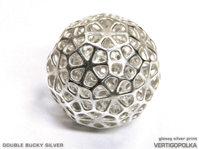 Double Bucky Silver in Raw Silver