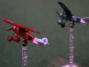 1/144 Fokker D VIII in White Strong & Flexible