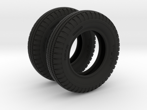 1-16 Tire  9 00x20 two units in Black Strong & Flexible
