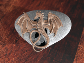 Dragon Pendant in Stainless Steel