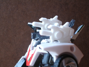 Sunlink - Prime: Wheeljacked Cannons x2 in White Strong & Flexible