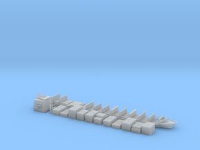 1:1200 Scale Container Ship