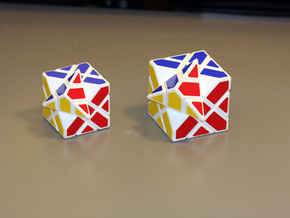 Compy Cube 60mm Version in White Strong & Flexible