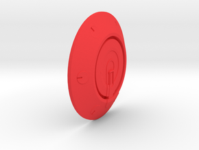 Iron Man mkIII - Hip-pod-outside in Red Strong & Flexible Polished