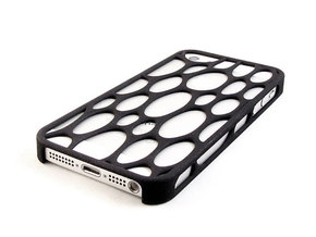 iPhone 5 / 5s Voronoi Case #3 in Black Strong & Flexible