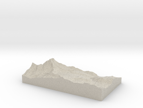 Model of Hirli in Sandstone