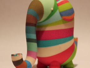 Morton the Elephant, large in Full Color Sandstone