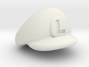 L-Plumber Cap in White Strong & Flexible