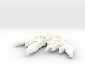 Breen Attack Vessel in White Strong & Flexible Polished