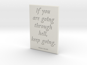 If you are going through hell in White Strong & Flexible