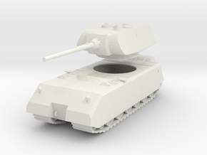 FW05 Pzkw VIII Maus (1/100) in White Strong & Flexible
