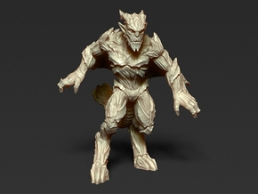 Gargoyle - unit 1 - Miniature 28/30mm Scale in Frosted Ultra Detail