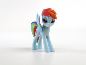 My Little Pony - Rainbow Dash (�75mm tall) in Full Color Sandstone
