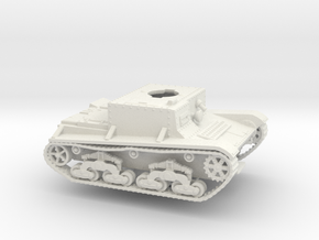 Wikked-6 Wk.6 Tank 28mm in White Strong & Flexible
