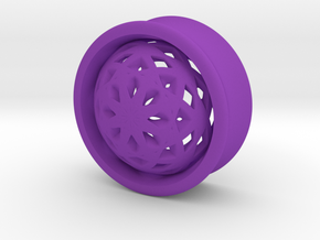 VORTEX2-25mm in Purple Strong & Flexible Polished