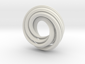 Klein Bagel (small) in White Strong & Flexible