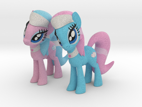 Spa Ponies in Full Color Sandstone