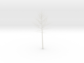 Tree in White Strong & Flexible Polished