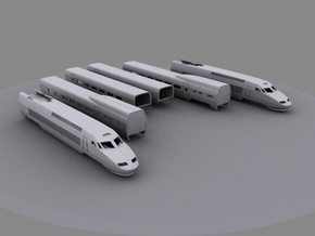 TGV (1:220) in Frosted Ultra Detail