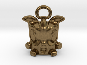 Lucky Rodent 003 in Raw Bronze