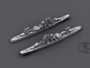 1/1800 IJN CL Yahagi[1945] in White Strong & Flexible