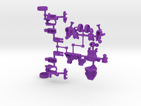 09-OAV Loader in Purple Strong & Flexible Polished