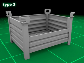 Stackable Container Type2 (1x) in Frosted Ultra Detail