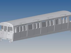 1:87 H0  C-Stock driver London Underground in White Strong & Flexible