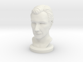 Gary Oldman Bust in White Strong & Flexible