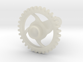 4 Gauge Gear in Transparent Acrylic