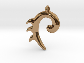 Equos in Polished Brass