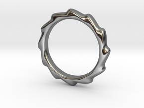 Vortex Ring in Premium Silver