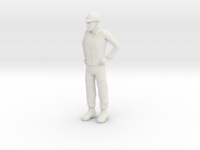 Foreman 1/29 scale in White Strong & Flexible