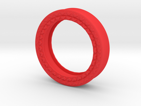 VORTEX8-45mm in Red Strong & Flexible Polished