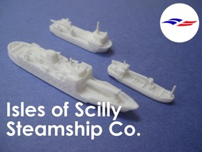 1:1200 Isles of Scilly Steamship Co in White Strong & Flexible