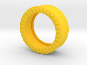 VORTEX9-27mm in Yellow Strong & Flexible Polished