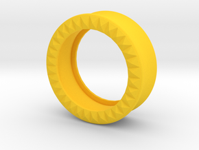VORTEX9-29mm in Yellow Strong & Flexible Polished