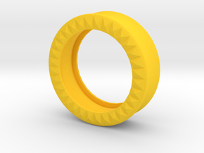 VORTEX9-33mm in Yellow Strong & Flexible Polished