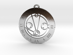 Michael - Pendant in Polished Silver