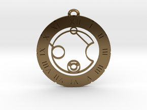Kevin - Pendant in Polished Bronze