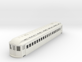 O Scale L&WV Coach Short BODY in White Strong & Flexible