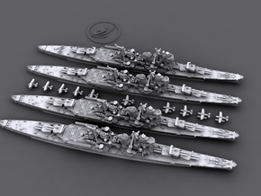 1/4800 IJN Myoko class heavy cruisers in Frosted Ultra Detail