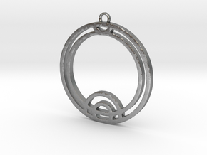Thea - Necklace in Raw Silver