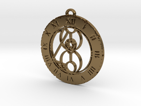 Mai-ling - Pendant in Polished Bronze